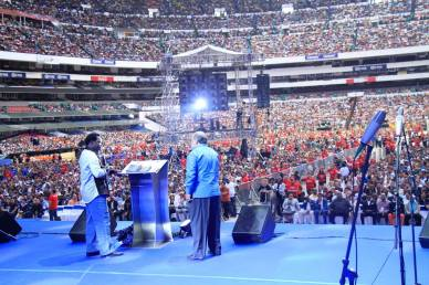 TB Joshua Crusade In Mexico city