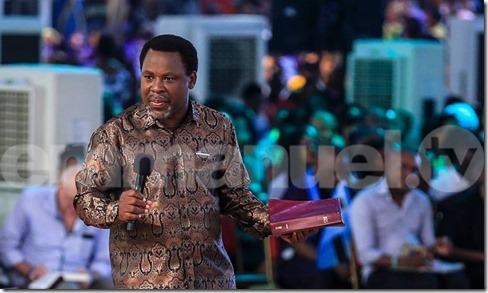 TB Joshua Preaching